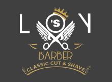 Loy's Barber Logo